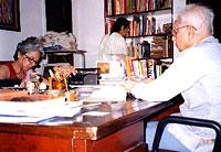 Prof. A. Rehman at Manana
