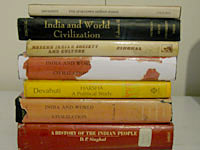 Collections of books by Dr. Devahuti & Prof. Singhal