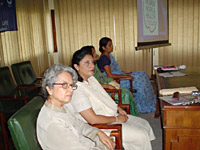 Pre-Congress Workshop in Kathmandu 2 October, 2005